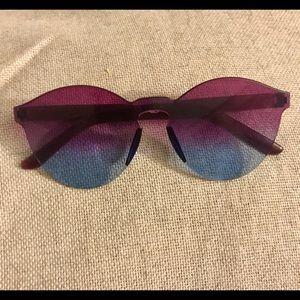 Accessories - Ombré purple/ blue tinted sunglasses 😎